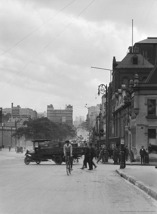 Elizabeth Street, Sydney, Australia, 1930