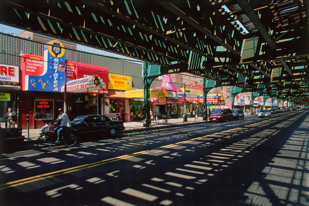 Under the Subway, Roosevelt Ave, New York City, Queens, Jackson Heights