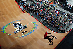 July 20, 2018 - Minneapolis, MN, USA - Douglas Oliveira competed in The Real Cost BMX Big Air Final Friday. ] ANTHONY SOUFFLE • anthony.souffle@startribune.com ....Athletes competed in the annual XGames Friday, July 20, 2018 at U.S. Bank Stadium in Minneapolis. (Credit Image: © Anthony Souffle/Minneapolis Star Tribune via ZUMA Wire)