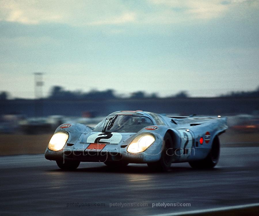 Winning Porsche 917K at Daytona 1971