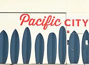 Pacific City Mural Huntington Beach California