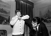 4/3/1965<br /> 3/4/1965<br /> 4 March 1965<br /> <br /> Miss Bernie Berrigan and Mr Tadayosi Miyatani