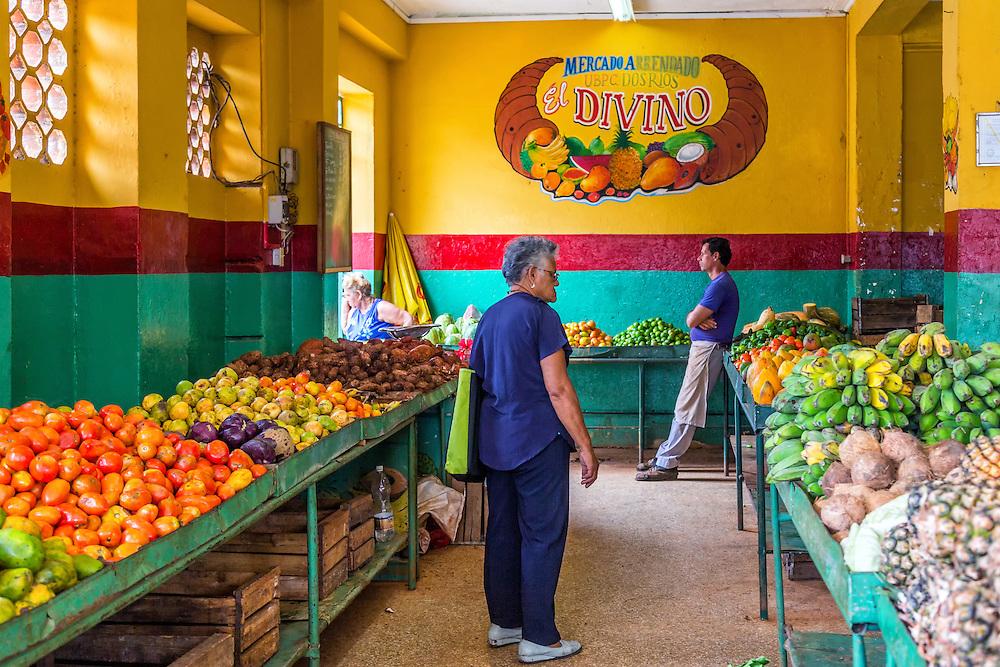 El Divino, a market on 17 in Havana Vedado, Cuba.