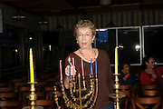 lighting the Chanukah Menorah