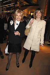 Left to right, LADY WYATT and her daughter PETRONELLA WYATT at a party to celebrate the publication of 'Young Stalin' by Simon Sebag-Montefiore at Asprey, New Bond Street, London on 14th May 2007.<br /><br />NON EXCLUSIVE - WORLD RIGHTS