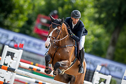 RENZEL Markus (GER), C-STEFFRA<br /> Münster - Turnier der Sieger 2019<br /> Preis des EINRICHTUNGSHAUS OSTERMANN, WITTEN<br /> CSI4* - Int. Jumping competition  (1.45 m) - <br /> 1. Qualifikation Mittlere Tour<br /> Medium Tour<br /> 02. August 2019<br /> © www.sportfotos-lafrentz.de/Stefan Lafrentz