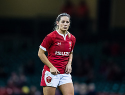 Kerin Lake of Wales<br /> <br /> Photographer Simon King/Replay Images<br /> <br /> Friendly - Wales v Barbarians - Saturday 30th November 2019 - Principality Stadium - Cardiff<br /> <br /> World Copyright © Replay Images . All rights reserved. info@replayimages.co.uk - http://replayimages.co.uk