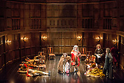 UNITED KINGDOM, London: 06 July 2017. Rehearsals get underway in preparation for the thirteen week showing of Queen Anne at the Theatre Royal Haymarket. The gripping new play, presented by The Royal Shakespeare Company explores the life of one of England's little-known sovereigns and her intimate friendship with her childhood confidante. Opening night is Monday 10 July at 7pm.<br /> Rick Findler / Story Picture Agency