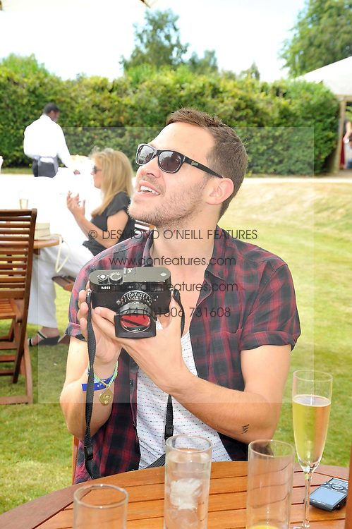 WILL YOUNG at a luncheon hosted by Cartier for their sponsorship of the Style et Luxe part of the Goodwood Festival of Speed at Goodwood House, West Sussex on 5th July 2009.