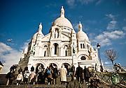 Stock  / Paris, France, Basilique du Sacre-Coeur
