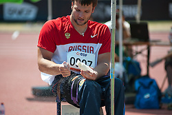 KUZNETSOV Alexey, RUS, Javelin, F54/55/56, 2013 IPC Athletics World Championships, Lyon, France