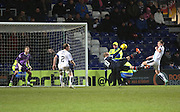Ross County&rsquo;s Liam Boyce puts his side 4-2 up with a sensational scissor kick - Ross County v Dundee, Ladbrokes Premiership at Victoria Park<br /> <br />  - &copy; David Young - www.davidyoungphoto.co.uk - email: davidyoungphoto@gmail.com