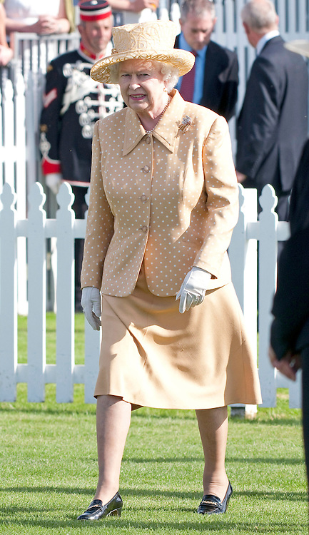 "QUEEN.having celebrated her Official Birthday yesterday was at Guards Polo Club for the Queen's Cup Final..Also present were Prince Phillip and Andrew Parker Bowles, Smith's Lawn, Windsor_14/06/2009.Mandatory Photo Credit: ©Dias/Newspix International..**ALL FEES PAYABLE TO: ""NEWSPIX INTERNATIONAL""**..PHOTO CREDIT MANDATORY!!: NEWSPIX INTERNATIONAL(Failure to credit will incur a surcharge of 100% of reproduction fees)..IMMEDIATE CONFIRMATION OF USAGE REQUIRED:.Newspix International, 31 Chinnery Hill, Bishop's Stortford, ENGLAND CM23 3PS.Tel:+441279 324672  ; Fax: +441279656877.Mobile:  0777568 1153.e-mail: info@newspixinternational.co.uk"