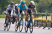 Silvan Dillier (SUI - AG2R - La Mondiale), Yousif Mirza (EAU - UAE Team Emirates), Andrei Grivko (UKR - Astana Pro Team) during the Tour of Guangxi 2018, stage 1, Beihai - Beihai 107,4 km on October 16, 2018 in Beihai, China - Photo Luca Bettini / BettiniPhoto / ProSportsImages / DPPI