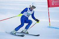 GSC Gus Pitou memorial giant slalom race U14.  ©2018 Karen Bobotas Photographer