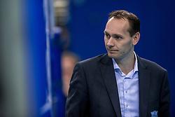 04-02-2017 NED: Draisma Dynamo - VC Nesselande, Apeldoorn<br /> Dynamo wint vrij eenvoudig en verslaat Nesselande met 3-0 / Justin Sombroek
