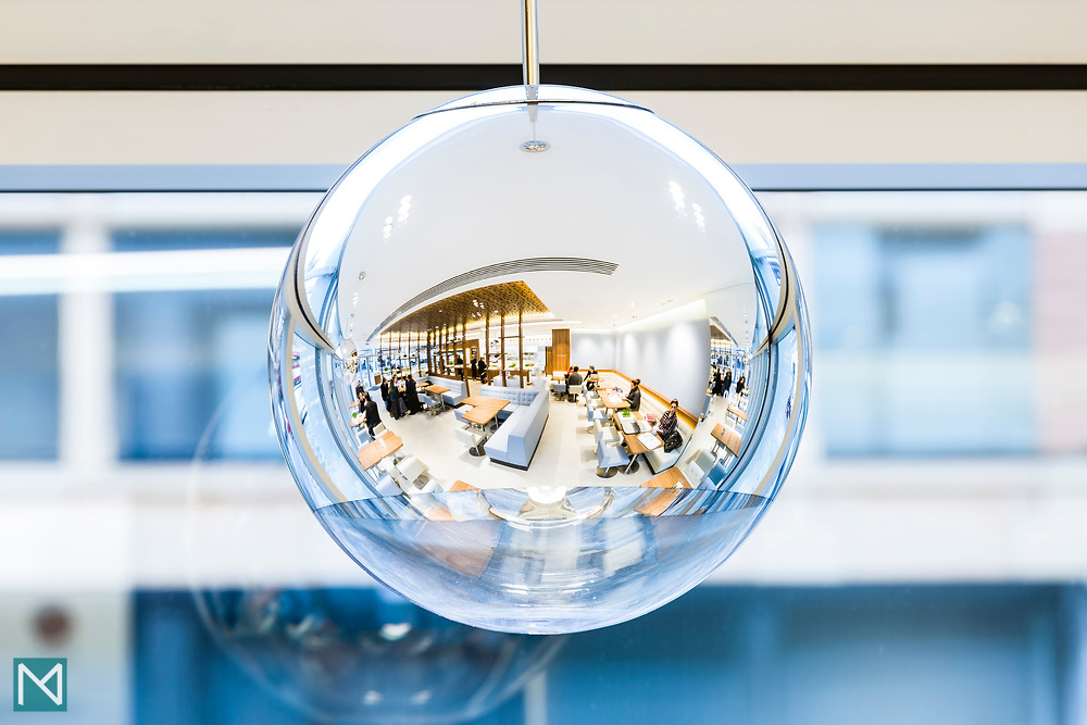 Lighting at Cojean London restaurant, for Cojean and iWant Design.