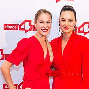 NLD/Amsterdam/20180622 - Inloop Dance4life gala 2018, Pascalle Paerel en Hanna de Kleijn