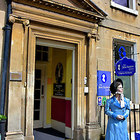 Jane Austin Centre in Bath, England<br />