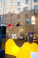 SWEDEN- STOKHOLM - 26/09/2006 : Chimera design and light shop- in SOFO the new  trendy and artists area . Sodermalm island    .///.boutique chimera dans SOFO le nouveau quartier branche sur  Sodermalm