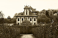 Troja Castle photographed in Sepia from the Garden side.