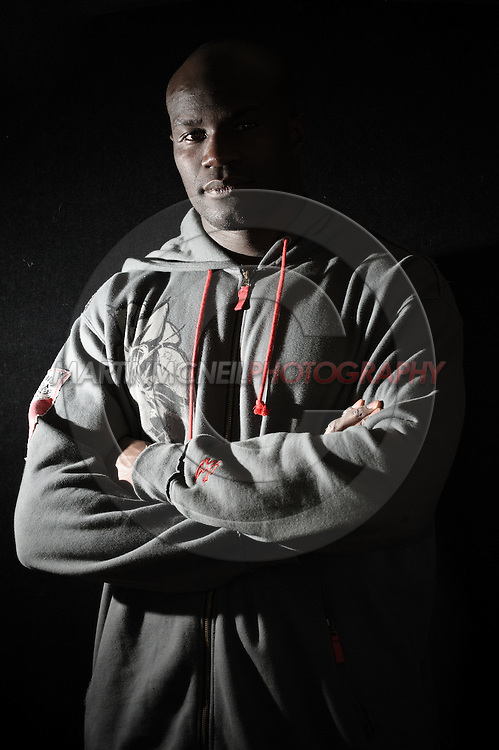 Portrait of mixed martial arts athlete Cheick Kongo