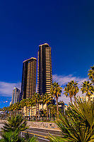 Harbor Drive, San Diego, California USA.