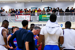 Bristol Flyers fans look on during the open training session - Mandatory by-line: Robbie Stephenson/JMP - 17/09/2019 - BASKETBALL - SGS Arena - Bristol, England - Bristol Flyers Open Training Session