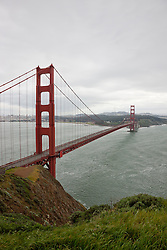 """""""Golden Gate Bridge 2"""" - Photograph of San Francisco's famous Golden Gate Bridge."""