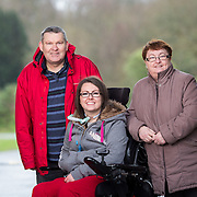 01.03.2017        <br /> Attending the Limerick City and County Patricia Ingle pictured with her parents, Pat and Annette Ingle at Glenstall Abbey, Co. Limerick. Picture: Alan Place