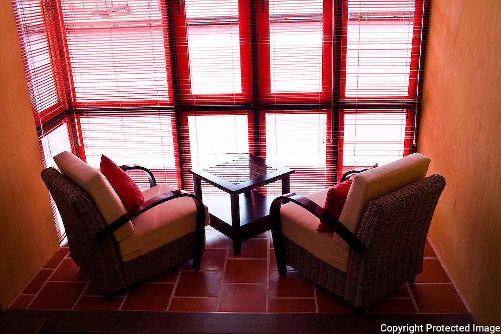 a sitting area at yeng Keng Hotel