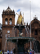 Scenes from around the the Plaza de Armas in Cusco, Peru.