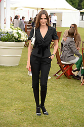 ASTRID MUNOZ at the 2013 Cartier Queens Cup Polo at Guards Polo Club, Berkshire on 16th June 2013.