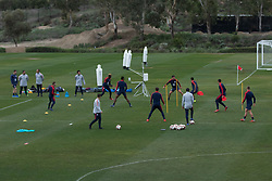 January 15, 2019 - Chula Vista, CA, USA - Chula Vista, CA - January 15, 2019: The USMNT trains during their annual January camp in California. (Credit Image: © John Dorton/ISIPhotos via ZUMA Wire)