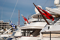 Piraeus, Greece. Boats in the Marina.