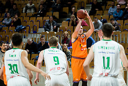 Jure Besedic of Helios Suns during basketball match between KK Petrol Olimpija and KK Helios Suns in Round #9 of Liga Nova KBM 2018/19, on December 14, 2018 in Arena Tivoli, Ljubljana, Slovenia. Photo by Vid Ponikvar / Sportida