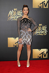 Katie Stevens, at the 2016 MTV Movie Awards, Warner Bros. Studios, Burbank, CA 04-09-16. EXPA Pictures © 2016, PhotoCredit: EXPA/ Photoshot/ Martin Sloan<br /> <br /> *****ATTENTION - for AUT, SLO, CRO, SRB, BIH, MAZ, SUI only*****