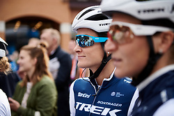 Lizzie Deignan (GBR) waits to sign on at Boels Ladies Tour 2019 - Stage 3, a 156.8 km road race starting and finishing in Nijverdal, Netherlands on September 6, 2019. Photo by Sean Robinson/velofocus.com