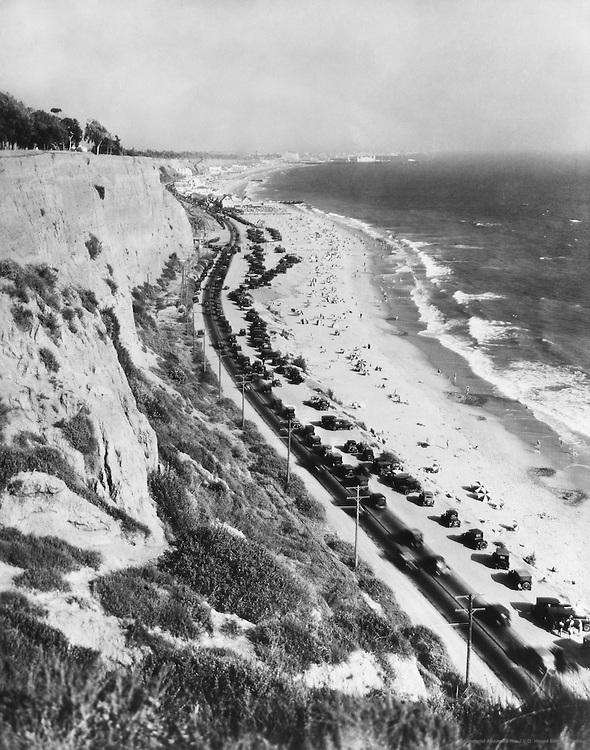 Pacific Coast Highway, Los Angeles, California, USA, 1926