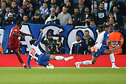 Liverpool midfielder Naby Keita (8) scores a goal 1-0 during the Champions League Quarter-Final Leg 1 of 2 match between Liverpool and FC Porto at Anfield, Liverpool, England on 9 April 2019.