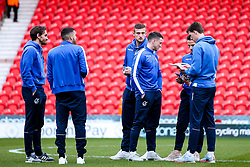 Bristol Rovers arrives at Doncaster Rovers - Mandatory by-line: Robbie Stephenson/JMP - 26/03/2019 - FOOTBALL - Keepmoat Stadium - Doncaster, England - Doncaster Rovers v Bristol Rovers - Sky Bet League One