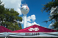 STARKVILLE, MS - SEPTEMBER 10:  Tent and Water tower on the campus of the Mississippi State Bulldogs before a game against the South Carolina Gamecocks at Davis Wade Stadium on September 10, 2016 in Starkville, Mississippi.  The Bulldogs defeated the Gamecocks 27-14.  (Photo by Wesley Hitt/Getty Images) *** Local Caption ***