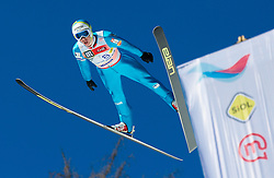 SINKOVEC Jure (SLO) during Flying Hill Team competition at 3rd day of FIS Ski Jumping World Cup Finals Planica 2012, on March 17, 2012, Planica, Slovenia. (Photo by Vid Ponikvar / Sportida.com)