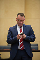 DEU, Deutschland, Germany, Berlin, 18.12.2015: Bundesratsminister Peter Friedrich (SPD) vor Beginn der Sitzung im Bundesrat.