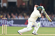 Asad Shafiq of Pakistan drives on DAy Two of the NatWest Test Match match at Lord's, London<br /> Picture by Simon Dael/Focus Images Ltd 07866 555979<br /> 25/05/2018