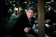 Mill Valley, April 6 2012 - Portrait of Peter Coyote in his house.