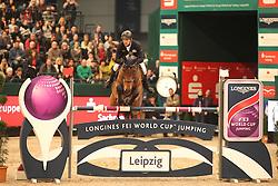 Wulschner Holger, (GER), BSC Cha Cha Cha<br /> Longines FEI World Cup<br /> CSIO Leipzig 2016<br /> © Hippo Foto - Stefan Lafrentz