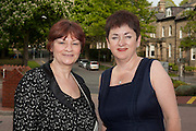 Christine Blower, NUT General Secretary and Mary Bousted, ATL General Secretary, at the NUT Conference 2011.