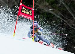 "Tessa Worley (FRA) competes during 1st Run of the FIS Alpine Ski World Cup 2017/18 5th Ladies' Giant Slalom race named ""Golden Fox 2018"", on January 6, 2018 in Podkoren, Kranjska Gora, Slovenia. Photo by Ziga Zupan / Sportida"