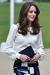 © Licensed to London News Pictures. 16/05/2016. Catherine, Duchess of Cambridge attends the launch of their Heads Together campaign to eliminate stigma on mental health London, UK. Photo credit: Ray Tang/LNP